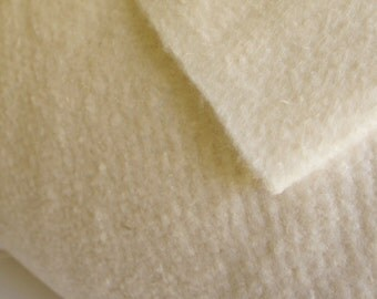 """Bamboo Cotton Batting by Metre, 50/50 Bamboo Cotton 96"""" Wide by Winline Textile, Bamboo Batting, Cotton Batting, Quilting Batting, Natural"""