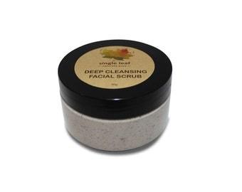 Natural Deep Cleansing Facial Scrub