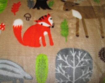polar plush fabric pattern children