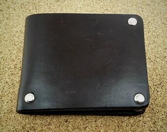 Men's wallet, handmade leather wallet, handmade wallet, gift for him, gift for men, mens wallet, minimalist wallet