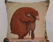 Bear & Beaver 100% Linen Cushion Cover / Pillow Case with FREE Shipping Australia Wide!
