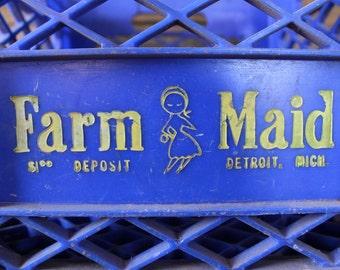 Farm Maid milk crate