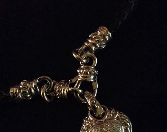 Beautiful Judith Ripka-like necklace