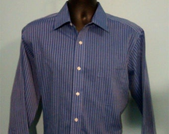 Stafford shirt etsy for Stafford white short sleeve dress shirts