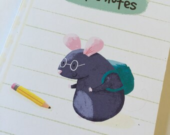 Cute mouse Notebook