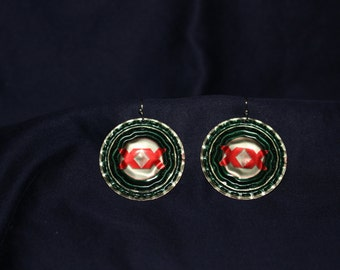 Dos Equis Bottlecap Earrings