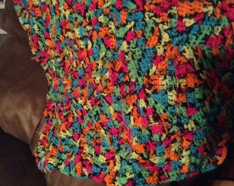 Colorful Throw