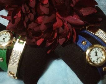 Decorative Watch Wrap Bracelet