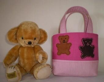 Girls Bag, Mini Tote Bag, Party Favour/Gift Bag, Small Bag, Childs Bag