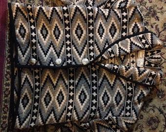 Vintage southwest tapestry jacket