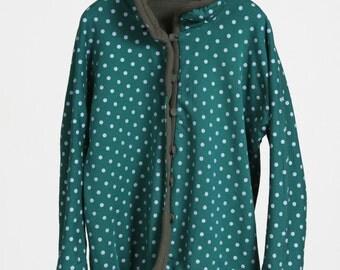 Reverse-wear Collar Jacket, Cotton