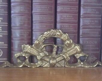Vintage brass hardware