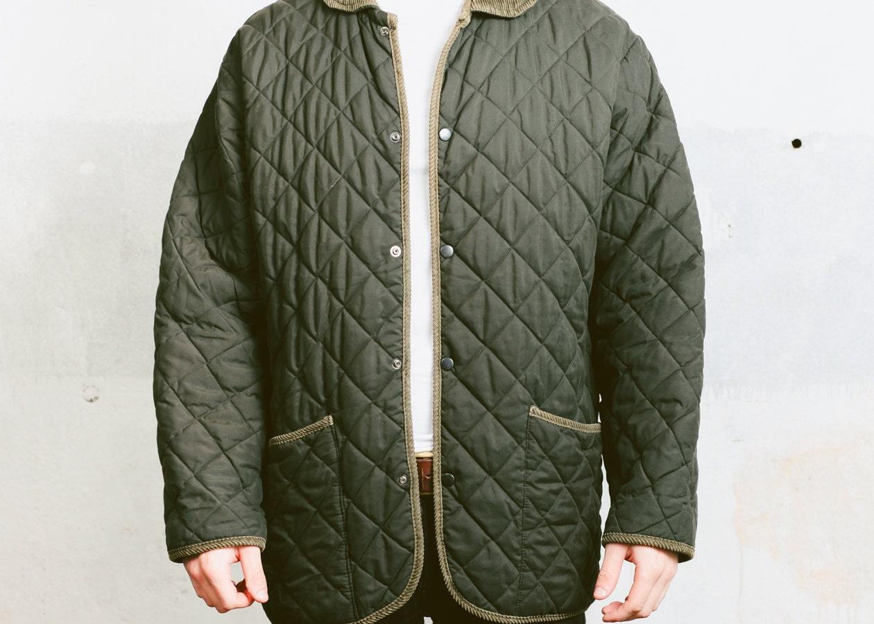 80s mens parka coat