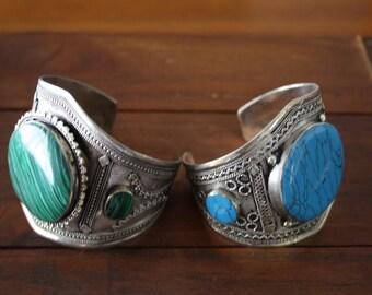 Vintage Kuchi Cuff Boho Bracelet Afghan Kuchi Cuff Bracelet Tribal Cuff Vintage Bohemian Cuff Jewelry