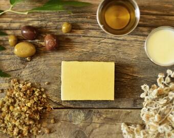 Savon pour Bébé Lait de Babeurre et Camomille - Buttermilk and Chamomile Baby's Soap
