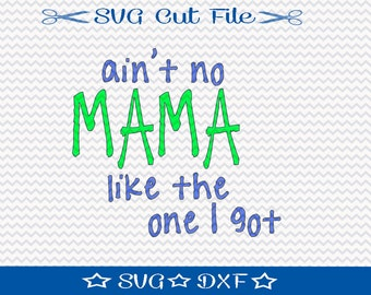 Mama SVG File / SVG Cut File /  SVG Download / Silhouette Cameo / Digital Download / Little Boy svg / Family svg / Mom svg