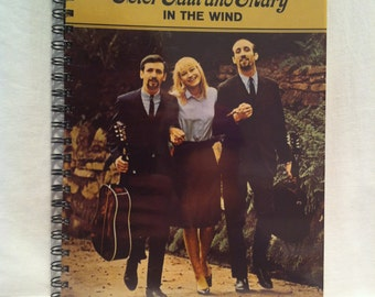 1963 Peter Paul and Mary Notebook