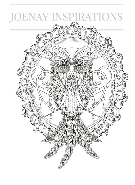 Adult Coloring Book, Printable Coloring Pages, Coloring Pages, Coloring Book for Adults, Instant Download Magnificent Mandalas 2 page 12