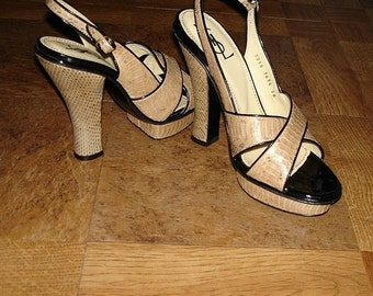 Yves Saint Laurent, Tribute Leather python size 38 Made in Italy