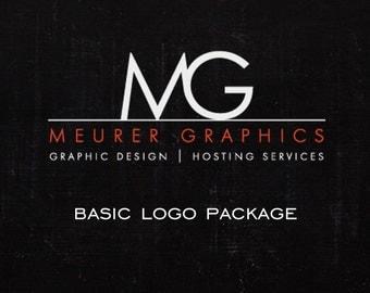 Basic Custom Logo Design Package