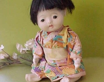 Sweet Little Vintage Japanese Friendship Baby Doll