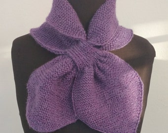Hand knitted scarf *several colours