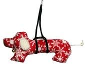 Dachshund Christmas Ornament doxie weiner dog sausage dog xmas decoration handmade