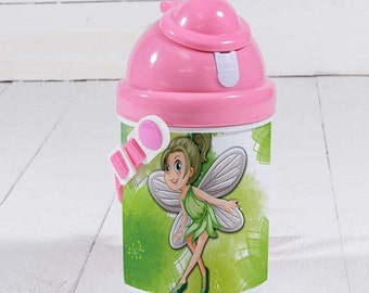 Children Plastic  Water Bottles (Blue or Pink)