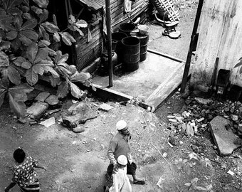 Father and son, Rangoon, Burma.