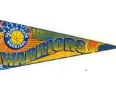 Golden State Warriors Banner / 1990s Pennant