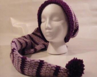 Custom Crochet Stocking Hat (Multiple Sizes)