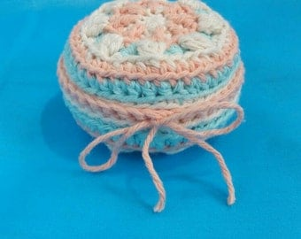 Crochet pin cushion, pin cushion