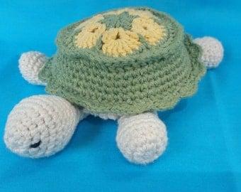 Amigurumi turtle, crochet turtle, stuffed turtle
