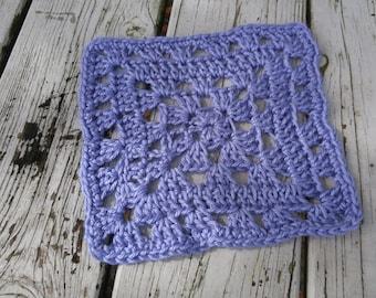Crochet Lavender Washcloth