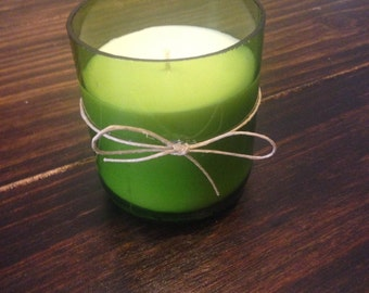 Customize your Wine Bottle Candle