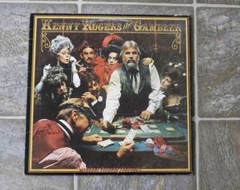 Vintage Kenny Rogers The Gambler LP Vinyl Record 1978 Original