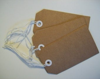 gift tags pack 10 recycled tags cardboard tags NEW