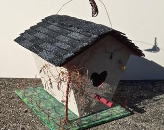 Bird House Sculpture