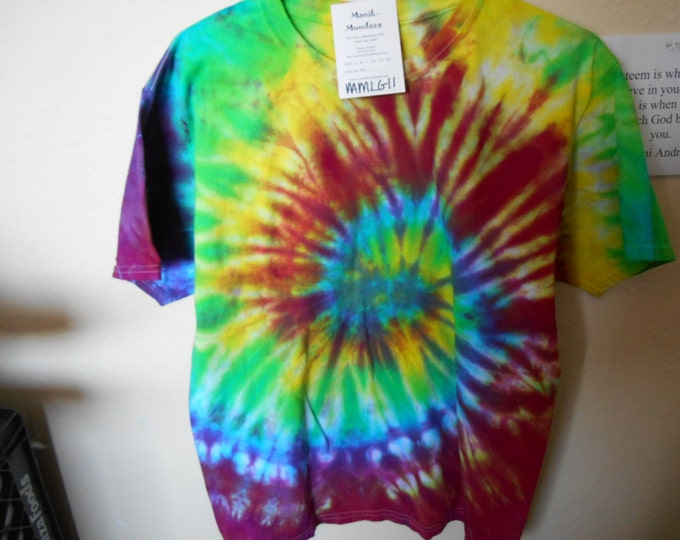100% cotton Tie Dye T-shirt MMLG11 size large
