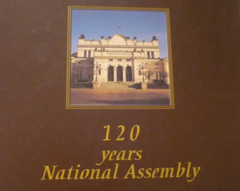 Bulgaria, Commemorative Book, 120th Anniversary of National Assembly, 1879-1999