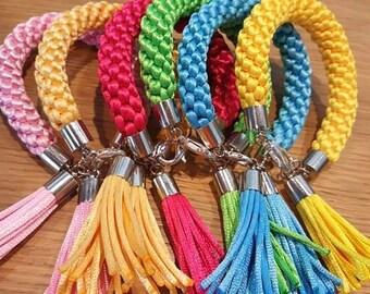 Braided woven bracelet