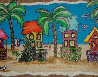 Summer Beach Town