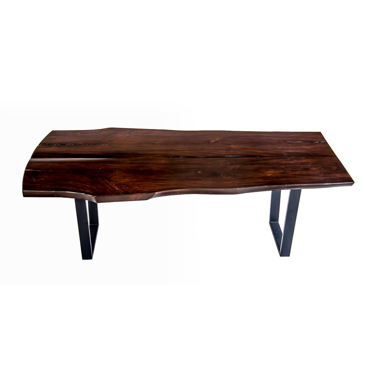 Special Live Edge Dining Table by Wood Fusion by WoodFusionTables