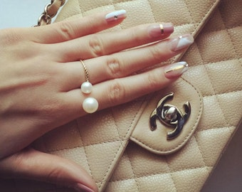 Southeast Natural Pearl Ring