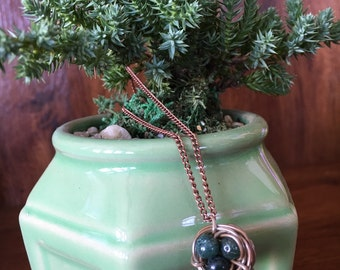 Handmade Bird Nest Necklace