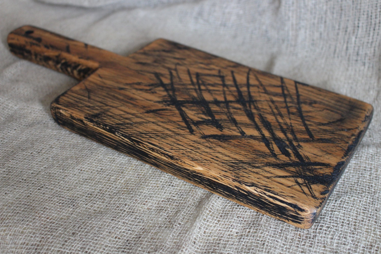 Rustic Wood Boards ~ Old rustic cutting board wooden serving vintage by