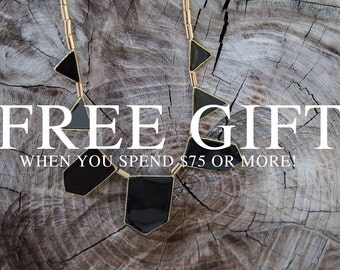 FREE GIFT With Purchase Of 75 Dollars Or More!