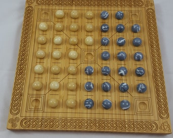 Halatafl - Nordic Checkers-like Game