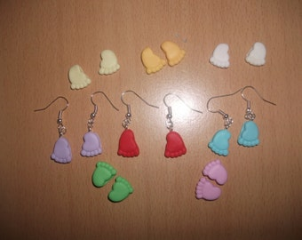 earring small feet fimo