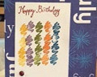 Birthday Card Birth stone